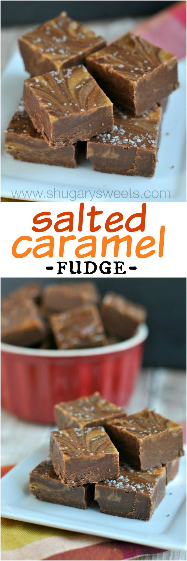 Salted Caramel Mocha Fudge: delicious recipe for a fun treat any time of year!