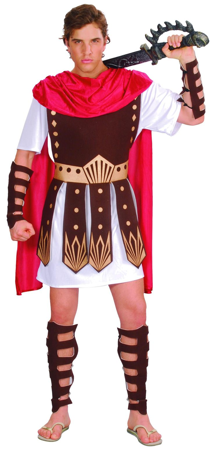 Kostüm - Gladiator - für Erwachsene - 6-teilig - Größe XXL