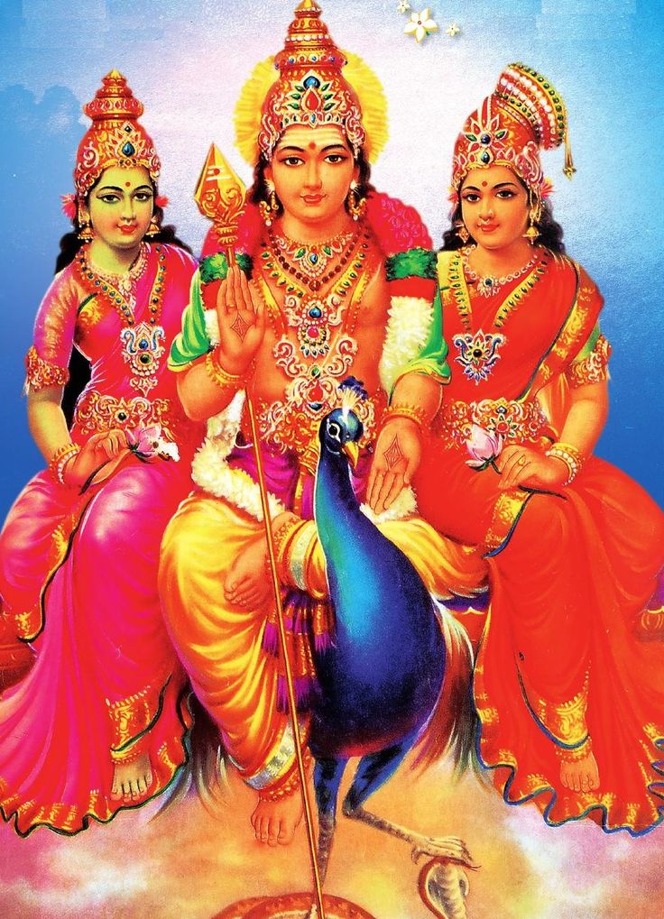 murugan with valli theivanai