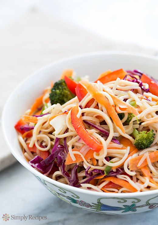 Asian Noodle Salad Recipe | Simply Recipes