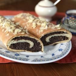 Foto recept: Poolse maanzaadcake (Makowiec)