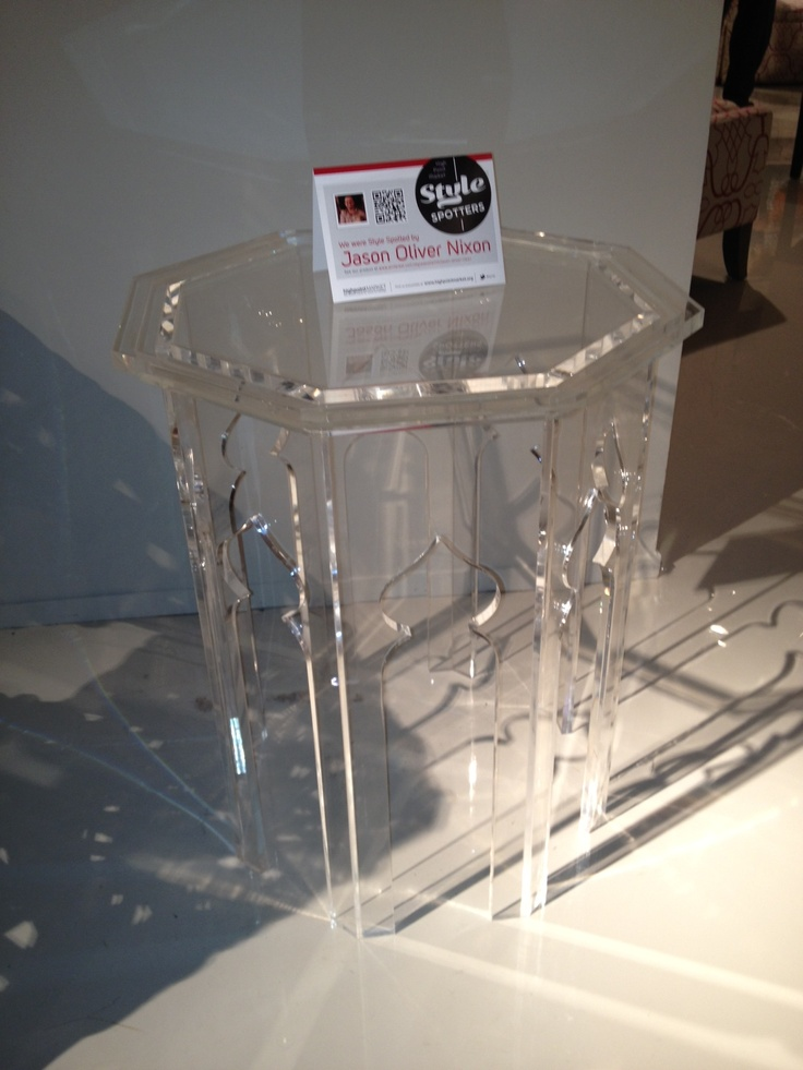 Latest Ideas Acrylic Side Table : ... acrylic Moroccan Side Table. I love nothing more than anything crafted
