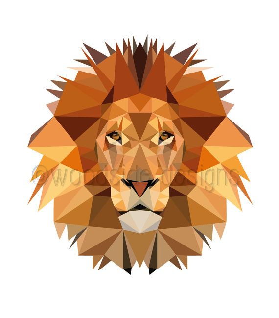 PRINTABLE Low Poly Lion Digital Download Print  ✚ NO PHYSICAL PRINT WILL BE SHIPPED - only DIGITAL FILES - NO PRINTED MATERIALS OR FRAME ARE INCLUDED  ✚ No waiting and no shipping fees. Just download, print and enjoy!  ✚ All To The Woodside printable art can be BLOWN UP to any size with no loss of quality using the PDF file supplied (not the JPG) as they are vector-based images   ✚WHAT'S INCLUDED:-  1 High resolution A4 (8.27 x 11.7) or (210mm x 297mm) PDF file of your Art print  1 High…