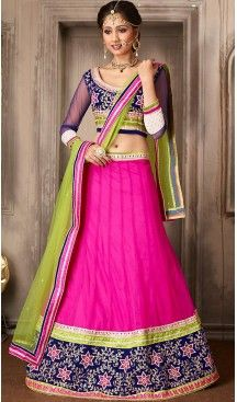 Deep Pink Color Net A Line Style Party Wear Lehenga Choli | FH479574040 #heenastyle, #designer, #lehengas, #choli, #collection, #women, #online, #wedding , #Bollywood, #stylish, #indian, #party, #ghagra, #casual, #sangeet, #mehendi, #navratri, #fashion, #boutique, #mode, #henna, #wedding, #fashion-week, #ceremony, #receptions, #ring , #dupatta , #chunni , @heenastyle , #Circular , #engagement