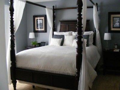 grey master bedroom - Google Search