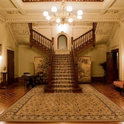 The familiar staircase in Martindale Hall - Mintaro