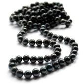 Musta makeanveden helminauha (pitkä malli) #mustathelmet #helminauha