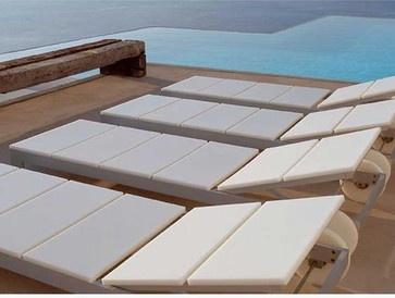 Gandia Blasco Es Cavallet Chaise Lounge - modern - outdoor chaise lounges - Switch Modern