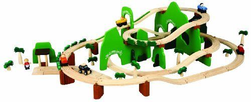 "PlanToys Road & Rail Adventure Play Set by Plan Toys. $142.08. Educational merits are recognized by some of the most prestigious awards in the industry. All toys are made from non-toxic natural materials such as organic rubberwood. Real world functionality which encourages creative play in a positive learning environment. PlanToys practices the ""Three R's"" of green living: reduce, reuse, and recycle. From the Manufacturer                Children will love build..."
