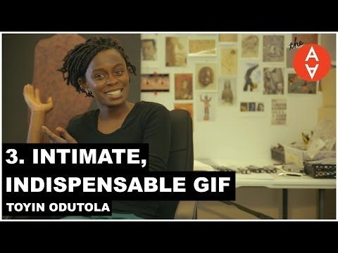 ▶ 3. Intimate, Indispensable GIF - Toyin Odutola | The Art Assignment | PBS Digital Studios - (I think this would be awesome with just the drawing stage because our school doesn't have Photoshop)