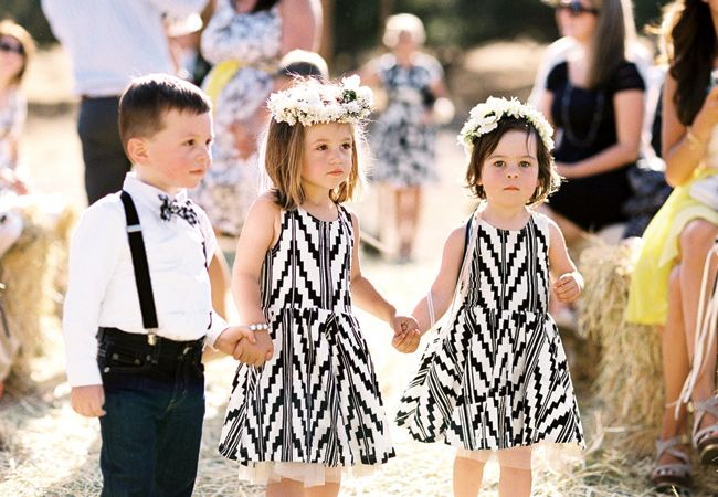 Flower Girls / dresses by Thief & Bandit Kids - Etsy / Braedon Photography
