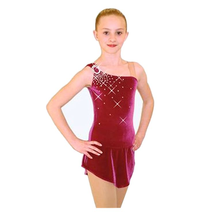 Customized Costume Ice Skating Figure Skating Dress Gymnastics Skirt For Kids Competition Adult Child Girl Performance