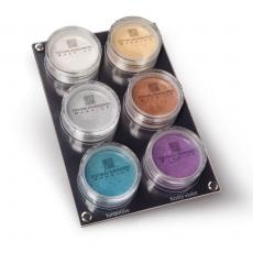 palette loose eyeshadows 6 col - stefania d'alessandro make-up