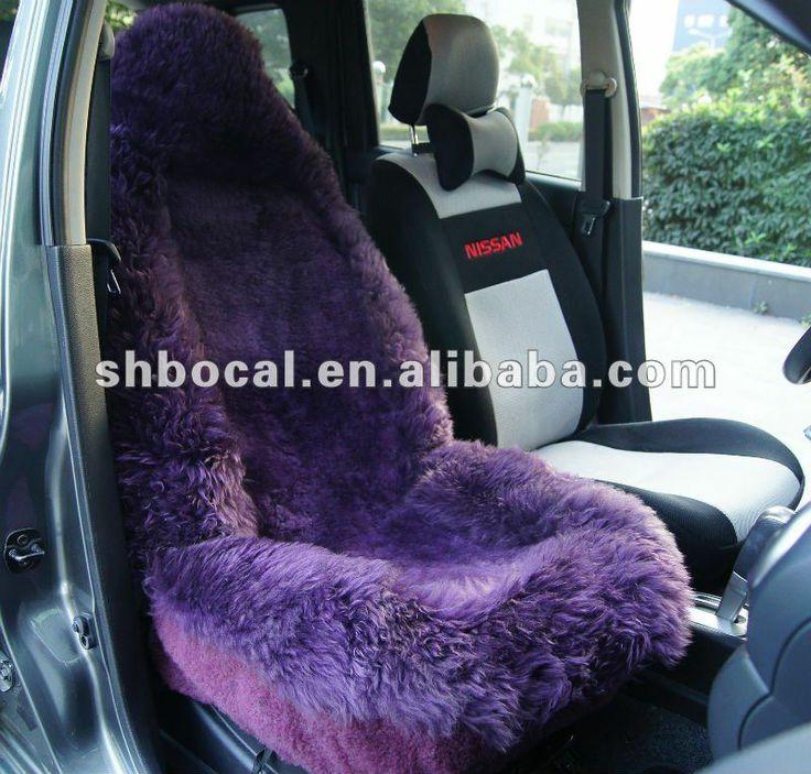 2014 design sheepskin car seat cover universal fit $16~$20