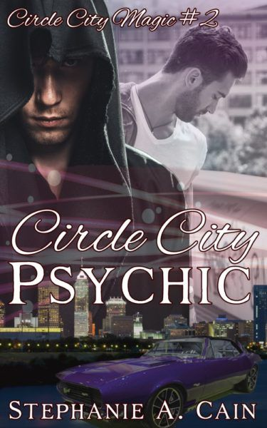 Circle City Psychic -- Circle City Magic #2 -- Coming in 2017    Martin Cole is a mechanic and Army vet who thought he'd coped with his PTSD. Elliott Blake is an Indianapolis police detective who just happens to be a werewolf. When their paths cross, sparks fly.