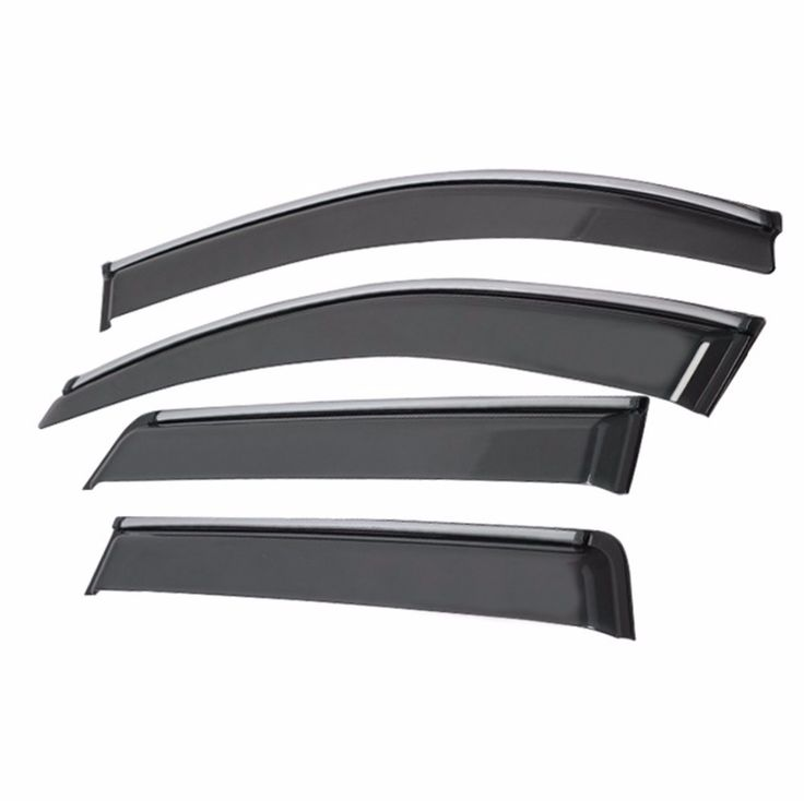 (68.95$)  Know more - http://aiiij.worlditems.win/all/product.php?id=32736774615 - Window Vent Visors Shades Rain Deflector Guard For Dodge Journey 2011 2012 2013 2014 [QPA375]