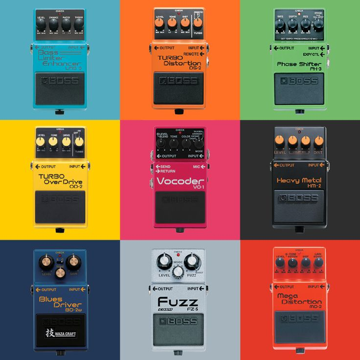 What Type of Guitar Effects Pedals Do You Need? - PowerOn