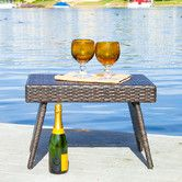 Found it at Wayfair - Tabago Outdoor Foldable Wicker Table