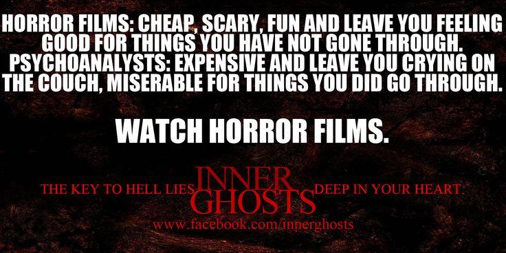 Why we love Horror.