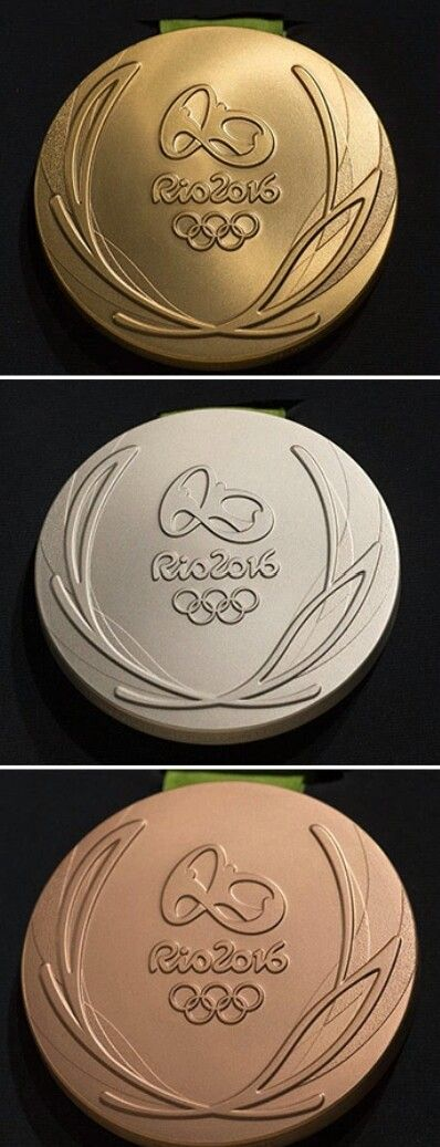 2016 Rio Olympic Medals