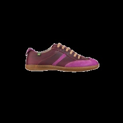 Viajero 273 violet. Chaussures El naturalista mixte avec lacets. Cuir à tannage végétal, semelle en caoutchouc naturel. Fabrication au nord de l'Espagne.