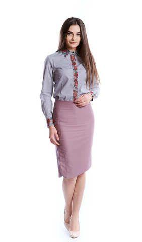 Вишита блузка на ґудзиках арт  276-17 00 купити в Україні і Києві ... 2a60487b9765a