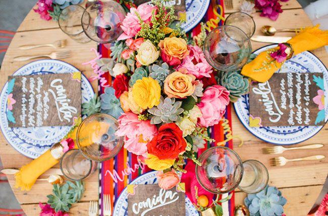 Cinco de Mayo Wedding Inspiration | Green Wedding Shoes Wedding Blog | Wedding Trends for Stylish + Creative Brides