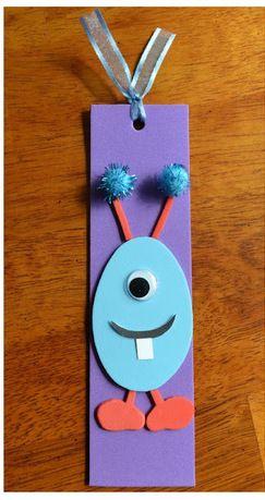 Foam Bookmark Craft For Kids /easycoastmommy