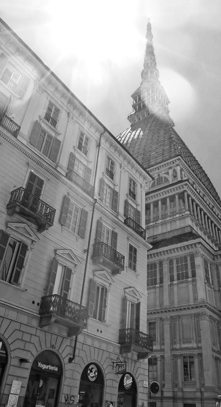 The icon of Turin, the Mole Antonelliana