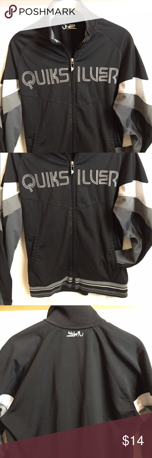 Quicksilver Track Jacket This is a men's small or women's medium. Great jacket to throw in when going to the gym💪🏻 Quicksilver Jackets & Coats Performance Jackets