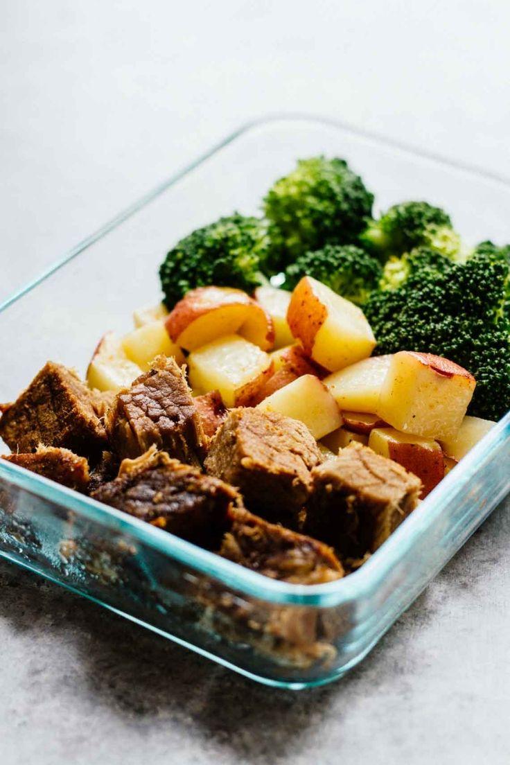 Steak-Potatoes-Meal-Prep-Bowls Close Up