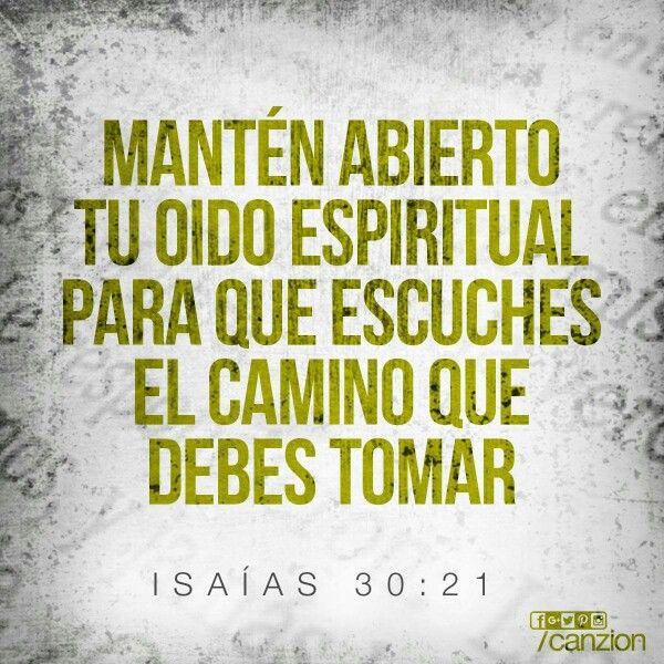 """""""Escucharé lo que hablará Jehová Dios; Porque hablará paz a su pueblo y a sus santos, Para que no se vuelvan a la locura."""" Salmo 85:8."""