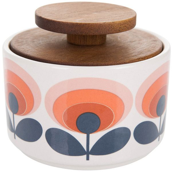 Red Kitchen Accessories. Orla Kiely U002770s Flower Sugar Bowl ($32) ❤ Liked On  Polyvore Featuring Home