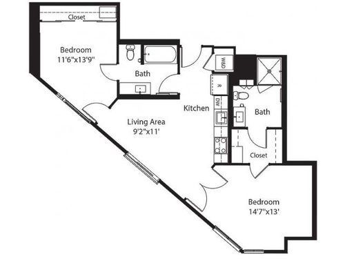 33 best triangle houses images on Pinterest | Flats, Home plans ...