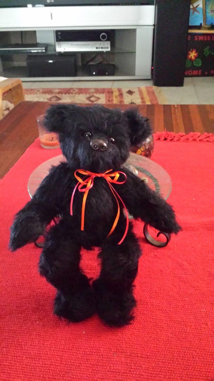 "My 2nd bear I made. Named him ""David"""