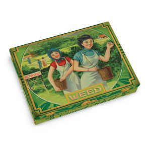 BlueQ Weed Tin Pocket Box  Who would ever think to look in here?