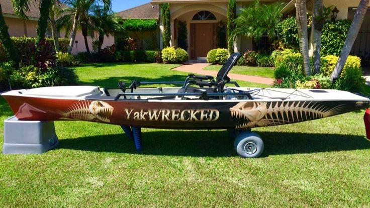 My husband taking his Hobie Pro Angler 14 to a new level...