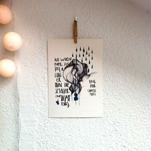 "Lámina Rey Lear III.Colección ""Bocetos de Shakespeare"".Edición limitada firmada por Marina Guiu.Impresión sobre papel digital de conquistador de 300gr.Medida A4 (21x 29,7 cm).Para más información:espacio-store@hotmail.com"