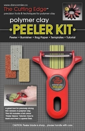 Polymer clay Peeler. I never knew this even existed... http://thecuttingedge.bigcartel.com/product/the-cutting-edge-peeler#