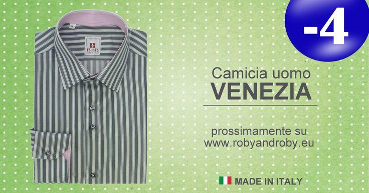 Camicia uomo VENEZIA prossimamente su www.robyandroby.eu