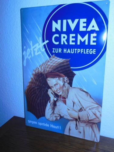 Werbe #Blechschild - #NIVEA CREME - 59 X 39,5 cm - TOP