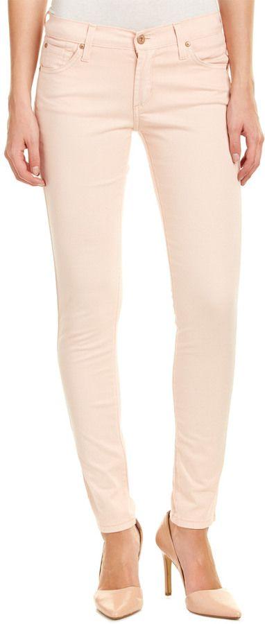 James Jeans Twiggy Peach Skinny Leg