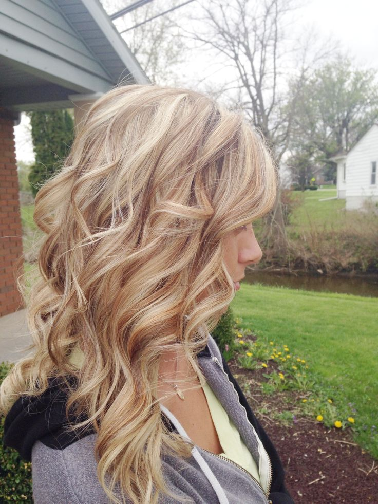 Dimensional Blonde Hair Pinterest Warm Colors