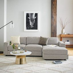 Urban 2-Piece Small Chaise Sectional