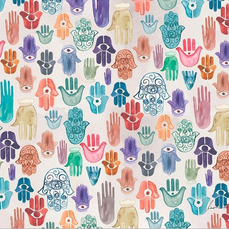 """9,004 Me gusta, 62 comentarios - The Jungalow™ (@thejungalow) en Instagram: """"✋✋✋ Hamsa art print now available in the shop ✋✋✋#justinablakeneyhome…"""""""
