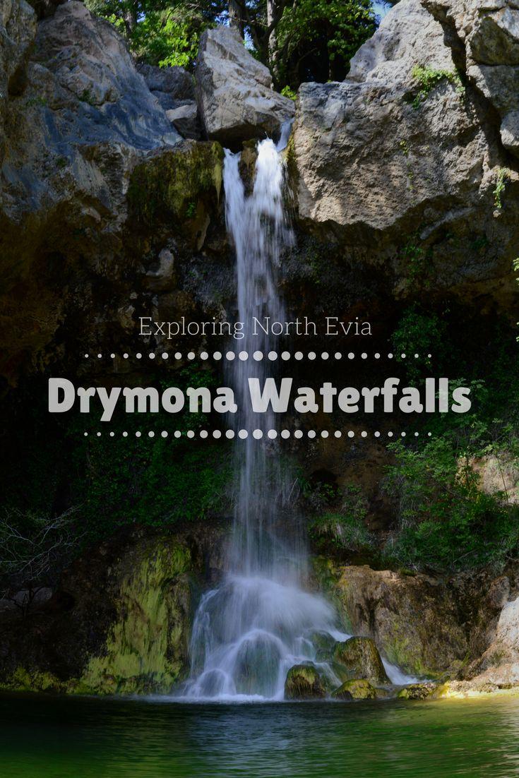 Exploring North Evia - Drymona Waterfalls, Greece.