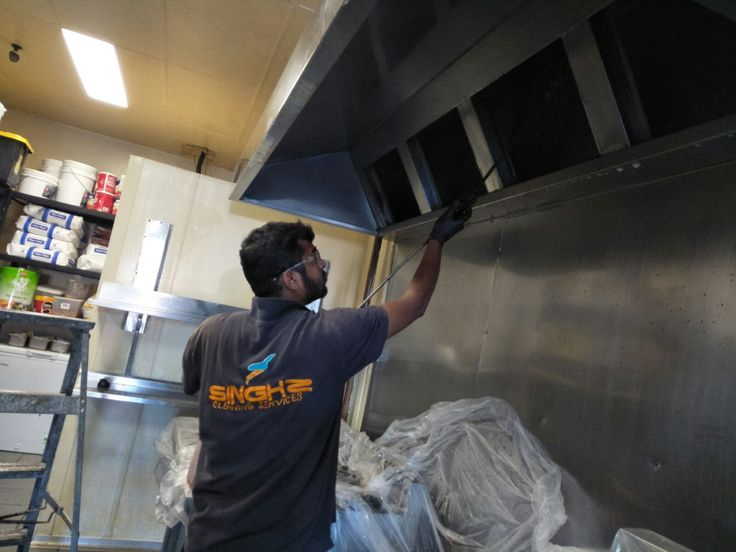 Singhz commercial kitchen cleaning services provide a full range of restaurant kitchen cleaning services in Melbourne. We clean your kitchen equipment, exhaust canopy, grease channels and the exhaust fans in your kitchen exhaust system. #KitchenExhaustCleaning #Commercial Cleaning