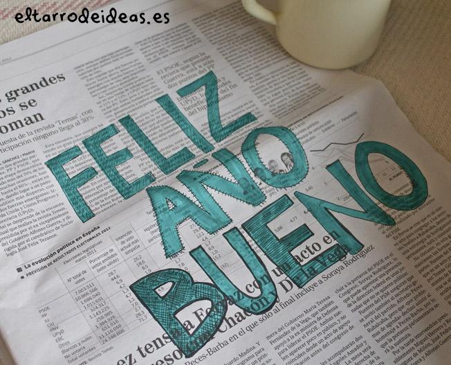 Ojalá que en 2013 podamos abrir un periódico de nuevo y sonreir...