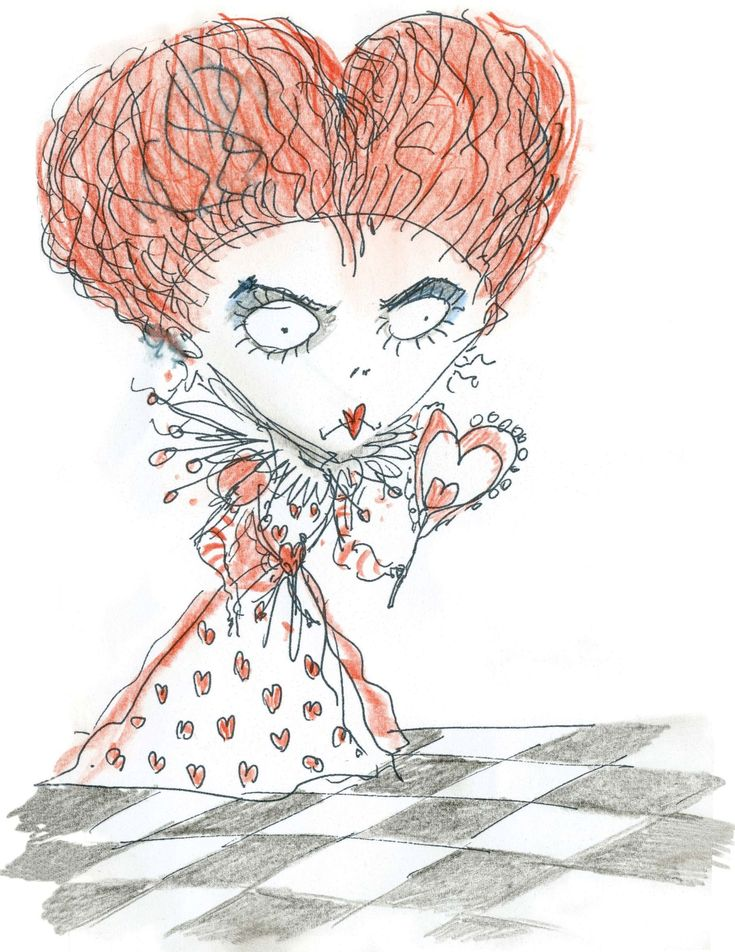 Red Queen Concept Art - Tim Burton - alice-in-wonderland-2010 Photo