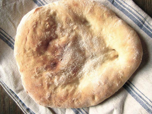 ELDHUSET: Enkel oppskrift på nanbrød